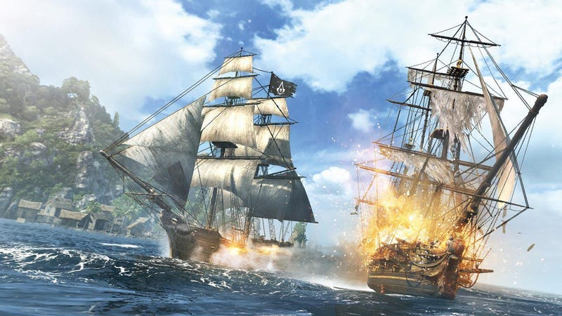 Illustration for article titled Assassin's Creed IV is basically the Pirate game I always wanted