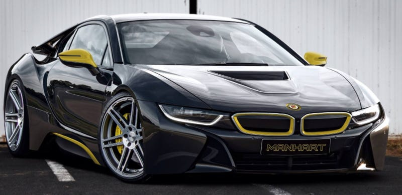 Here Come The Tasteless Tuner Versions Of The Bmw I8
