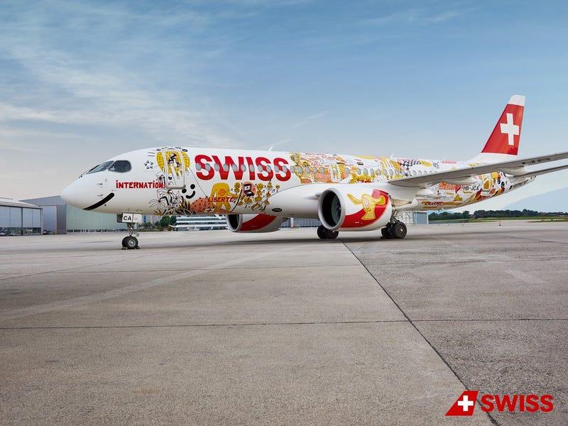 Swiss International Air Lines, via Twitter