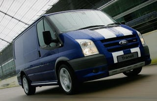 Illustration for article titled God Save the Packages: The Ford Transit SportVan