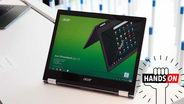 110f6ee215 Acer's Chromebook Spin 13 Could Be the Most Well-Rounded Chrome OS Laptop  On the Market