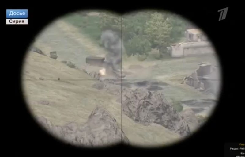 Russian State TV Airs Video Game Clip as Real War Footage