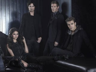 Illustration for article titled The Vampire Diaries Cast Picture