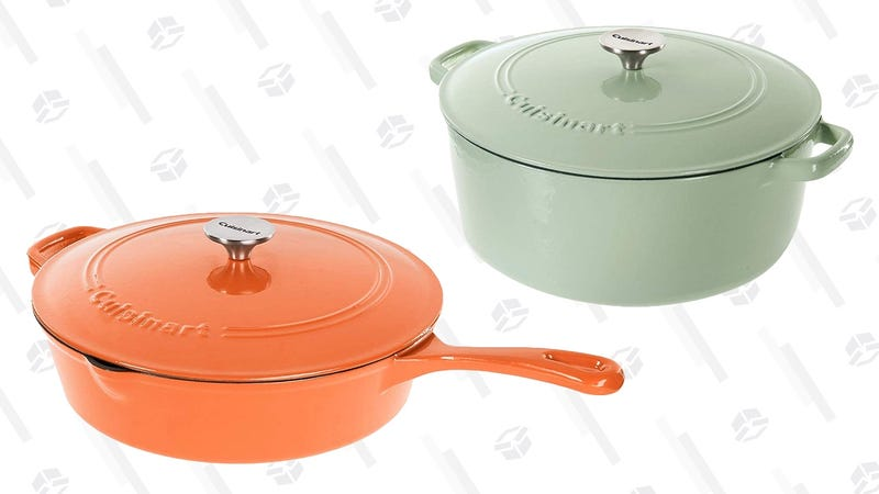 Cuisinart Cast Iron Cookware Sale | Amazon