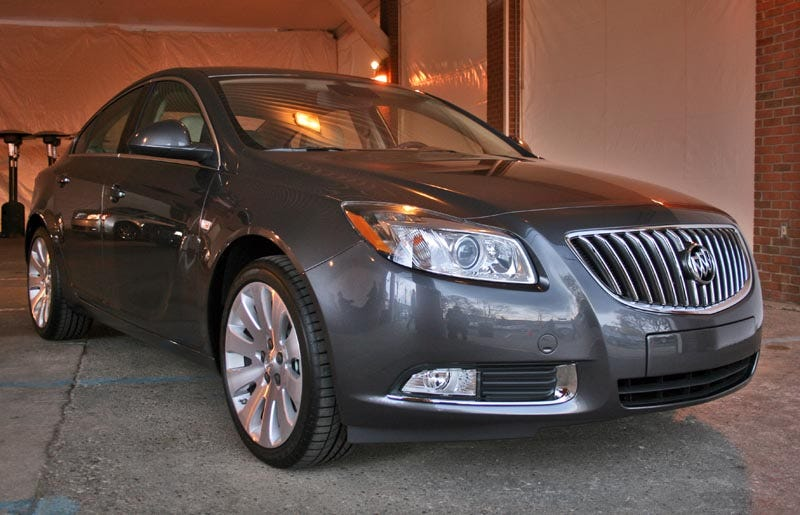 Illustration for article titled 2011 Buick Regal: First Drive