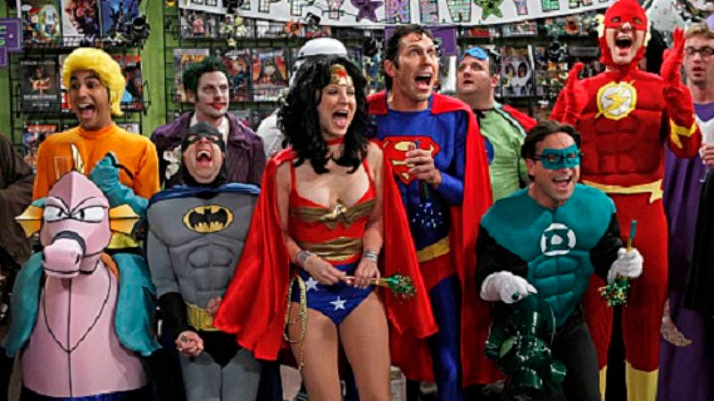 "Illustration for article titled The Big Bang Theory: ""The Justice League Recombination"""