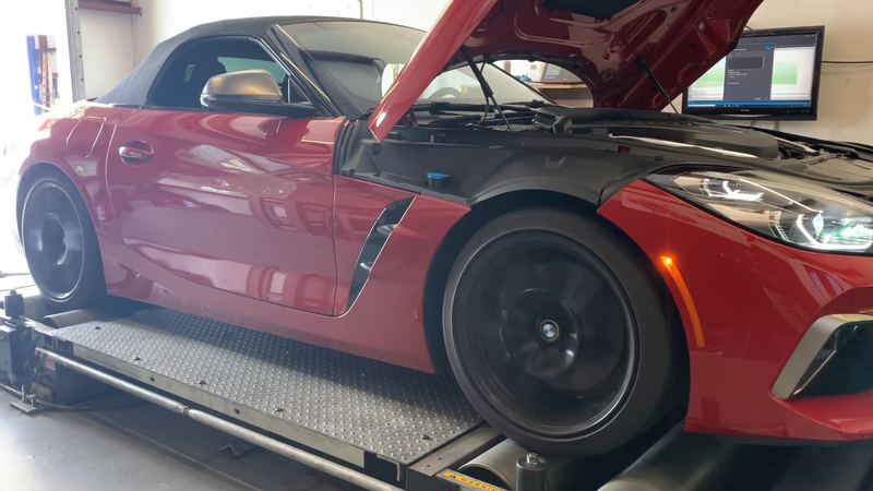 Illustration for article titled Dyno Test Reveals the 2020 BMW Z4 Has a Lot More Torque Than BMW Claims