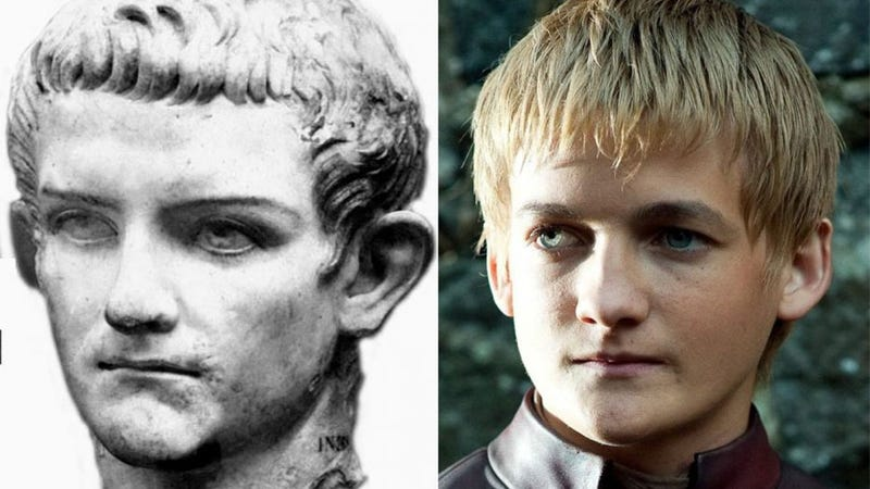 Illustration for article titled Wow, Rome's Most (Allegedly) Debauched Ruler Looks Just Like Joffrey