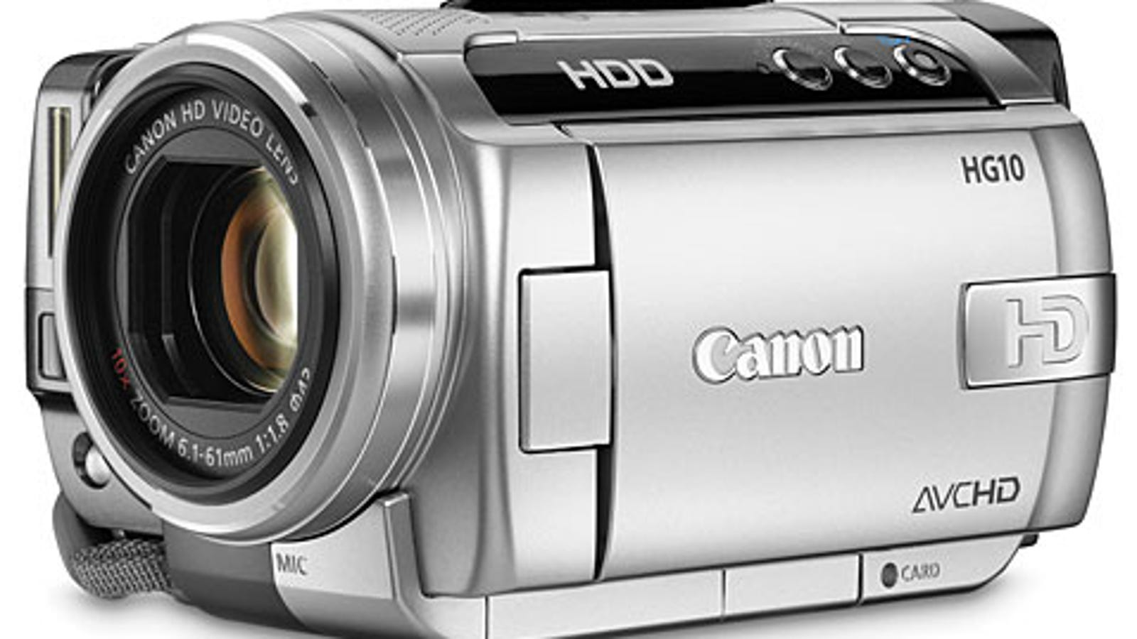 CANON HDD HG10 DRIVERS PC