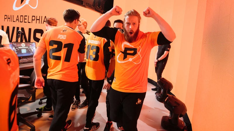 Illustration for article titled The Philadelphia Fusion Are Real Frisky Now