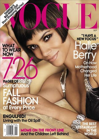 Illustration for article titled Halle Berry's Vogue Cover Revealed!