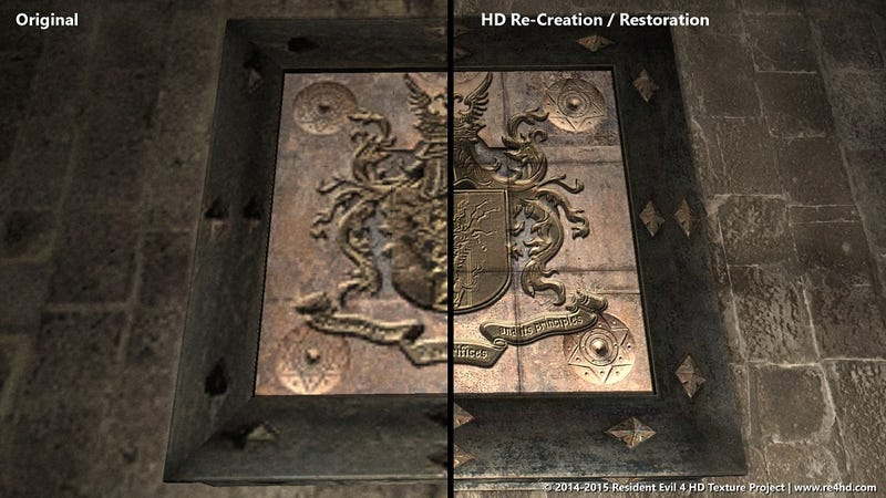 Resident Evil 4 Fans Are Creating the HD Graphics Capcom