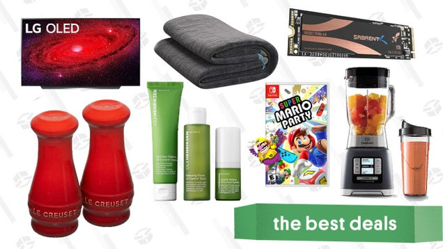 Wednesday s Best Deals: Eight Sleep Pod Pro Cover, Sabrent SSDs, LG CX 55  OLED TV, Le Creuset Kitchenware, Nintendo Switch Games, and More