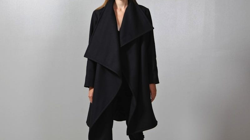 Illustration for article titled Fashion Scavenger Hunt: Help Find This Stylish Witch Coat for Less