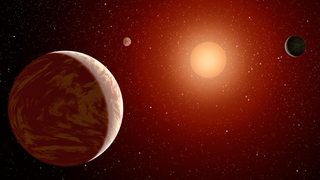 Illustration for article titled Solar Winds From Red Dwarfs May Be Sterilizing Habitable Zone Planets