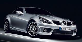 Illustration for article titled The 2009 Mercedes SLK 55 AMG