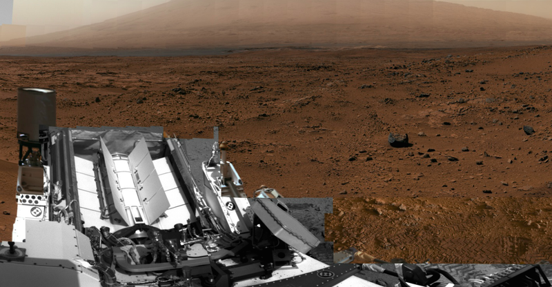 Illustration for article titled NASA's New 360 Degree, Interactive Mars Viewer for Your Phone Is Unsettlingly Good