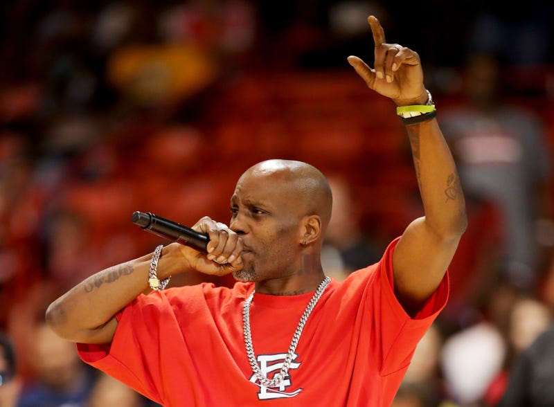 DMX performs during week five of the BIG3 three on three basketball league at UIC Pavilion on July 23, 2017, in Chicago.