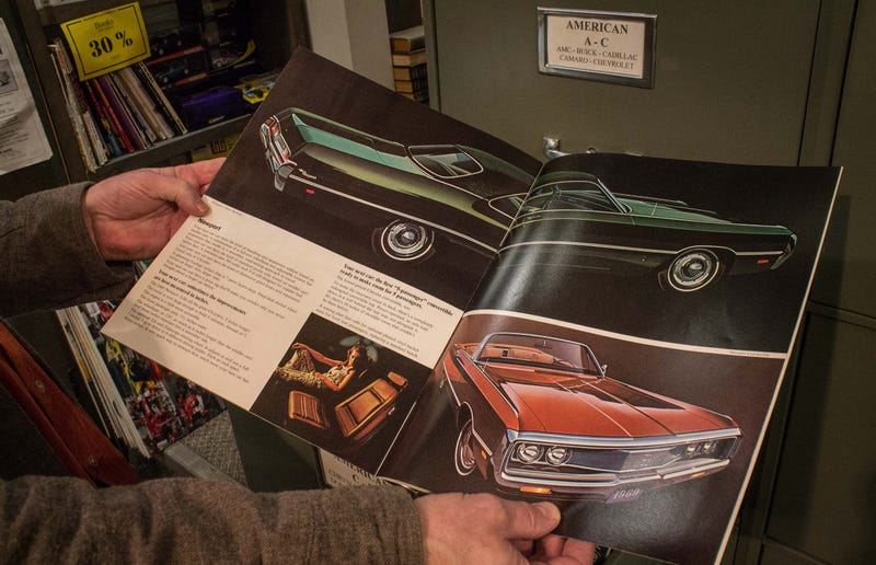 Illustration for article titled My Chrysler was mentioned in this article about an automobilia shop