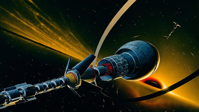 Illustration for article titled Just Going One Event Horizon Over, Be Back Soon
