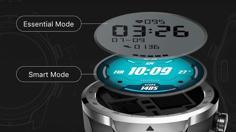 TicWatch Pro Dual Mode Smart Watch | $225 | Amazon | Promo code SX5EETMX