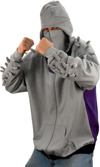 Illustration for article titled Turtles and Rats Will Run Away When I Wear This Hoodie