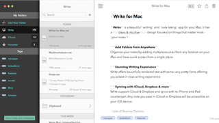 Illustration for article titled Write for Mac Brings the Minimal iOS Notes and Writing App to Desktop