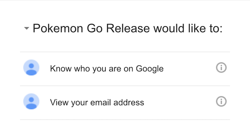 Illustration for article titled Pokémon GoUpdates With a Fix for Google Permissions