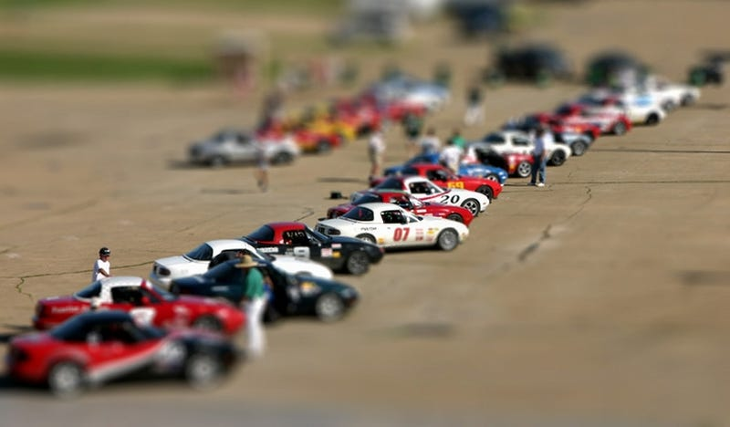 Turning Cars Into Toys Tilt Shift Photography Magic