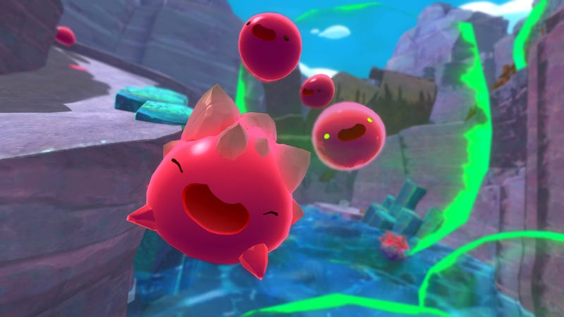 Illustration for article titled Slime Rancher Is A Great Relaxation Game