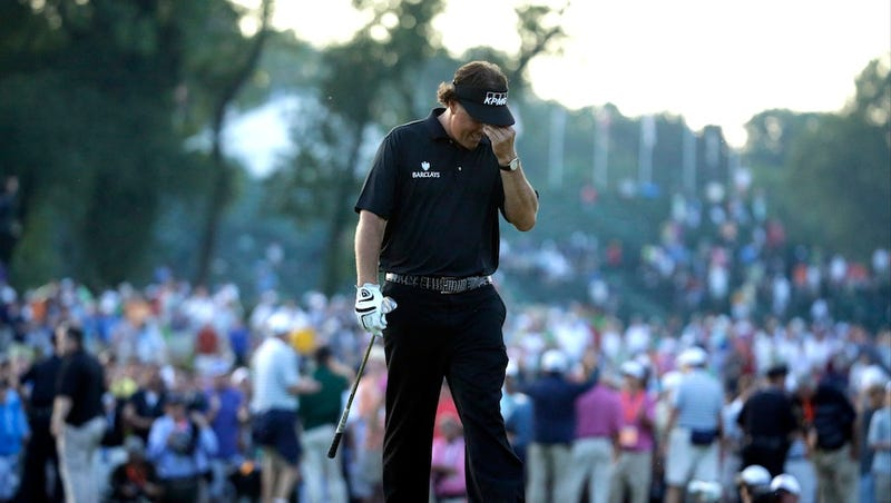 Illustration for article titled Phil Mickelson, Champion Sad Sack