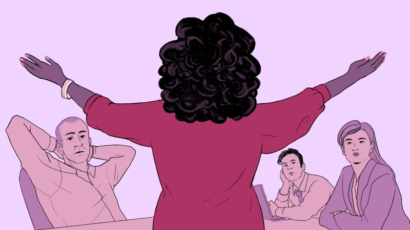 Illustration for article titled The Perils of Being 'Office Oprah'