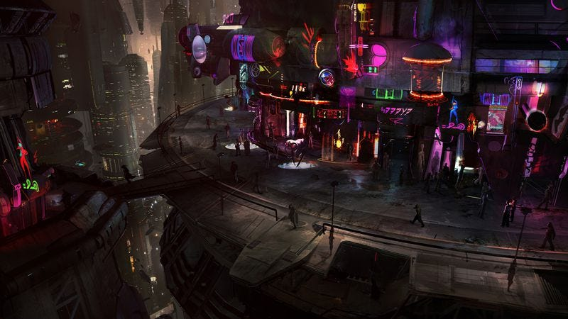 Illustration for article titled Star Wars 1313 concept art is probably better than the game would have been