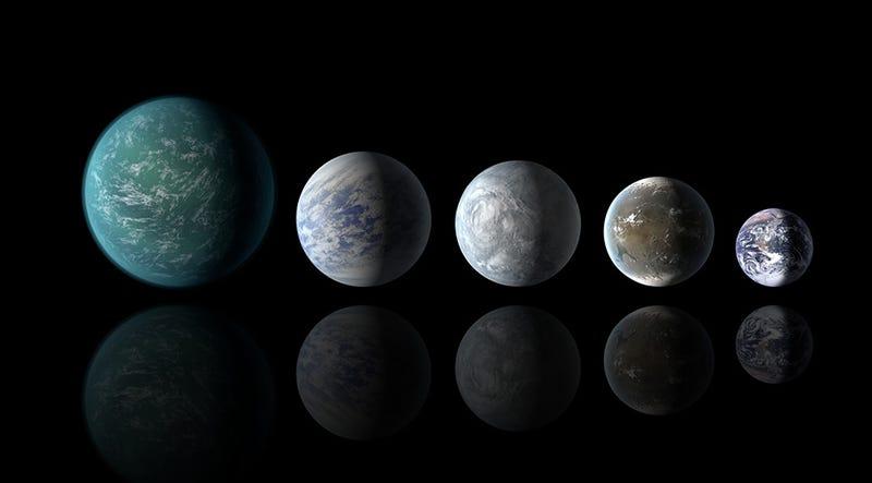La NASA descubre planetas similares a la Tierra en una zona habitable