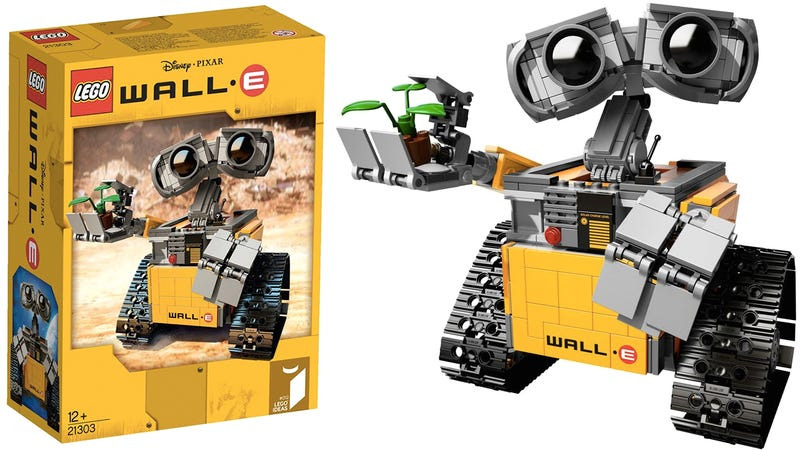 Illustration for article titled The first images of Lego's upcoming WALL•E set are unbelievably adorable