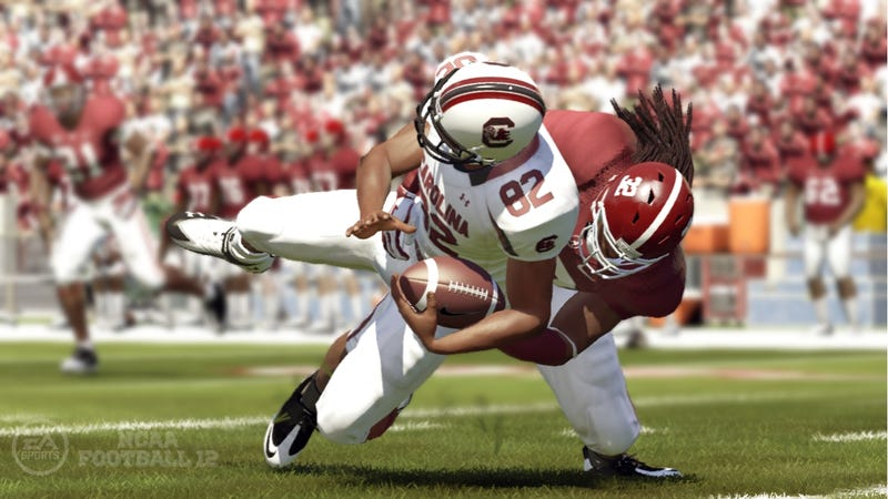 Illustration for article titled New NCAA Kickoff Rules Will Appear First in a Video Game