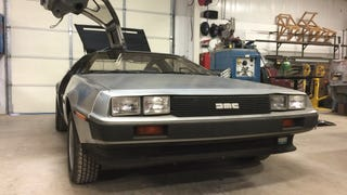 Get Inside This Awesomely Quirky Delorean DMC-12