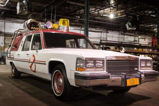 Illustration for article titled Here's The New Ecto-1 From The 2016 Ghostbusters Movie
