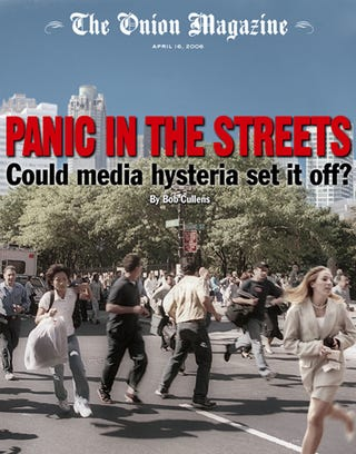 Illustration for article titled Panic In The Streets