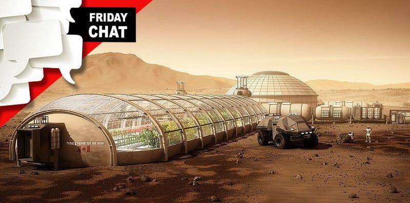 ¿Te irías a colonizar Marte sabiendo que nunca podrías regresar a la Tierra?