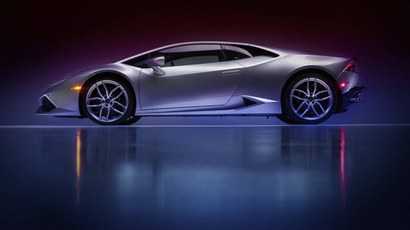 Illustration for article titled The Lamborghini Huracán looks better in our exclusive photos
