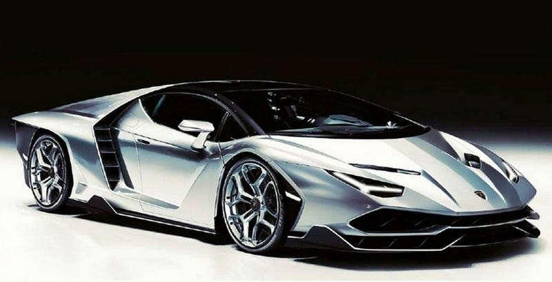 Lamborghini Centenario This Sure Looks Like It Update It Isn T