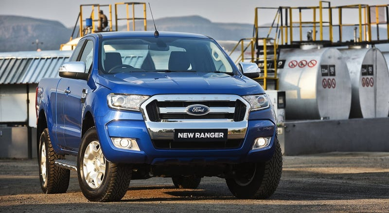 The 2016 Ford Ranger As Sold In Australia And Other Markets Photo Credit