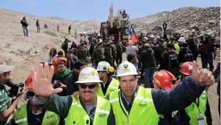 Illustration for article titled Funbag Bonus: Did The Chilean Miners Masturbate?