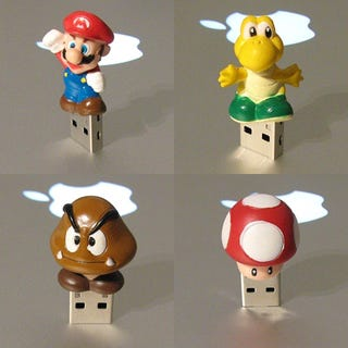 Illustration for article titled Mario World To Take All Over Your USB Ports