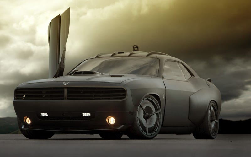 Air Force Builds Two High Tech Custom Muscle Cars