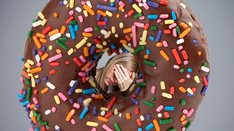 Illustration for article titled I Ate a Donut Because I Was Sad and Other Lessons About Emotional Eating