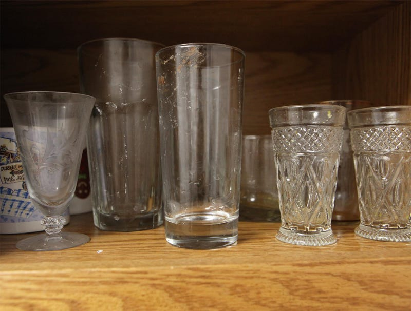 Illustration for article titled Every Glass In Grandmother's Cupboard Visibly Filthy