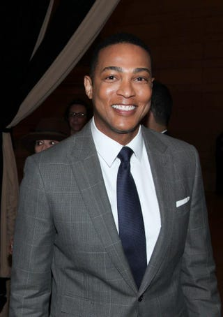Don Lemon attends The Sixties series premiere party May 28, 2014, at Grand Central Terminal in New York City.Rob Kim/Getty Images