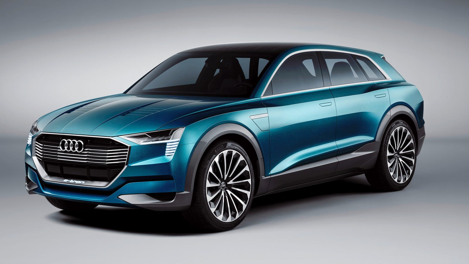 the first all electric audi suv will just be called 39 e tron 39. Black Bedroom Furniture Sets. Home Design Ideas